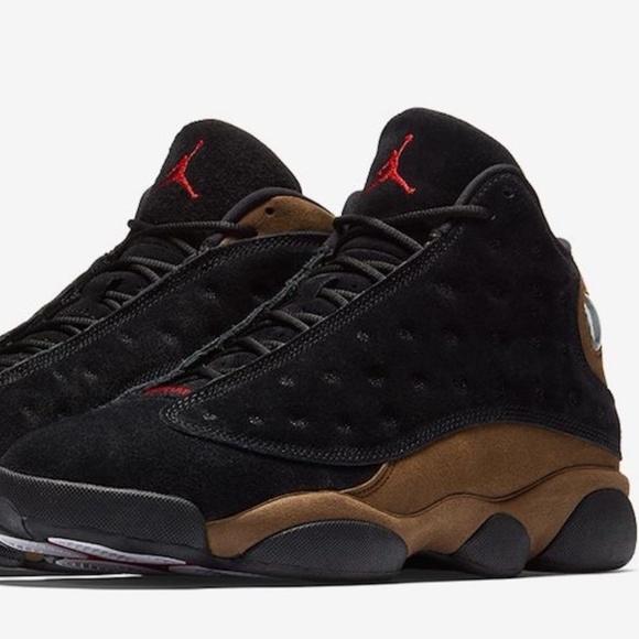 24067994423eb4 Nike Air Jordan 13 Retro Olive Mens Multiple Size